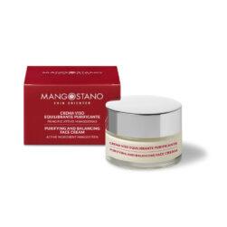 Crema viso equilibrio purificante domiciliare mangosteen pelli impure 1