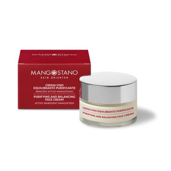 Purifying balancing face cream