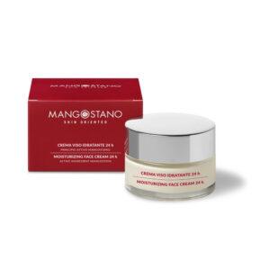 Moisturizing face cream 24H, Domiciliare, Mangosteen intensive